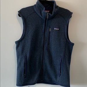 Patagonia Blue vest, full zip up, never worn